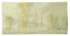 The Prairie In Giverny Bath Towel