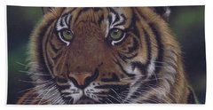 The Prince Of The Jungle Hand Towel