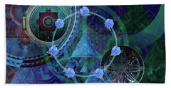 The Prism Of Time Bath Towel