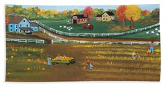 The Pumpkin Patch Hand Towel