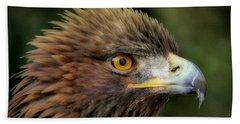 The Punk - Eagle - Bird Of Prey Bath Towel