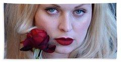 The Queen's Rose... Hand Towel
