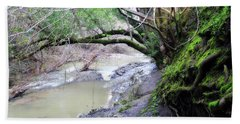 The Quiet Places Hand Towel by Donna Blackhall