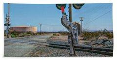 The Railway Crossing Hand Towel