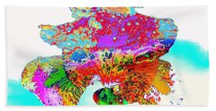 The Rainbow Iris Hand Towel