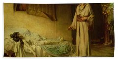 The Raising Of Jairus's Daughter Hand Towel