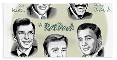 The Rat Pack Hand Towel