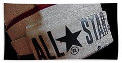 The Converse All Star Rear Label. Bath Towel by Don Pedro De Gracia