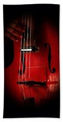 The Red Cello Bath Towel