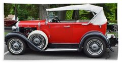 The Red Convertible Bath Towel