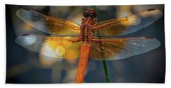 The Red Skimmer Bath Towel