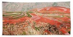 The Redlands, Yunnan, China Hand Towel