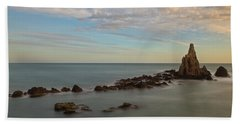 The Reef Of The Cape Sirens At Sunset Bath Towel