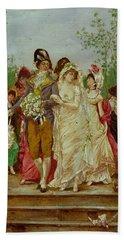 The Revolutionist's Bride, Paris, 1799 Bath Towel