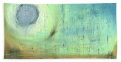 The Rising Sun Hand Towel by Michal Mitak Mahgerefteh