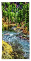 The River Hand Towel