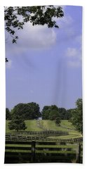 The Road To Lynchburg From Appomattox Virginia Bath Towel
