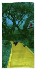 The Road To Oz Hand Towel
