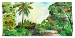 The Road To Tiwi Bath Towel