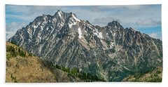 The Rock At Mount Stuart Hand Towel