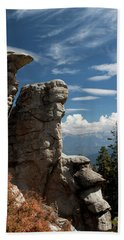 Bath Towel featuring the photograph The Rock Formation by Ivete Basso Photography