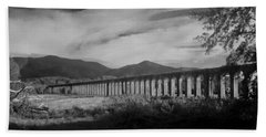 The Roman Aqueducts Hand Towel