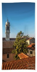 The Roofs Of Venice Bath Towel