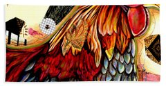 The Rooster Bath Towel