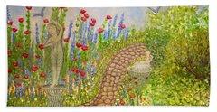 The Rose Dancer Garden Of Victorian Delight Hand Towel