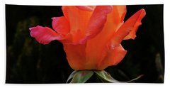 The Rose Hand Towel by Mark Blauhoefer