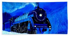 The Royal Blue Express Hand Towel
