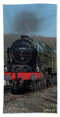 The Royal Scot 1 Bath Towel by David  Hollingworth