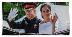 The Royal Wedding Of Prince Harry  To Meghan  Hand Towel