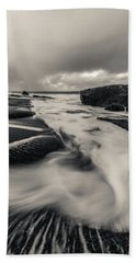 The Rush Of The North Sea Hand Towel