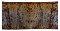 The Rusted Feline Hand Towel