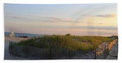 The Sand Dunes Of Long Island Bath Towel by Dora Sofia Caputo Photographic Art and Design