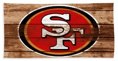 The San Francisco 49ers 3b    Hand Towel
