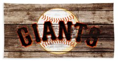 The San Francisco Giants 3e   Hand Towel