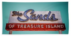 The Sands Hand Towel by Jerry Golab