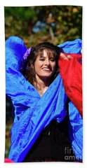 The Scarf Hand Towel by Kathy Baccari