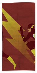 The Scarlet Speedster Bath Towel