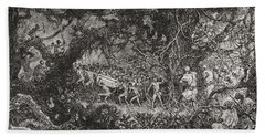 The Scouts On Sir Henry Morton Stanley Bath Towel