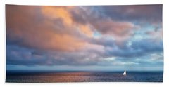 The Sea At Peace Bath Towel