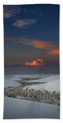 The Sea Of Sands Hand Towel
