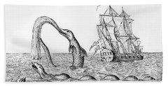 The Sea Serpent Bath Towel