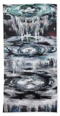 The Seals Hand Towel by Cheryl Pettigrew