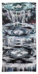 The Seals Bath Towel by Cheryl Pettigrew
