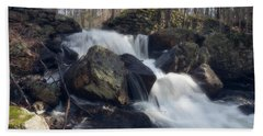 The Secret Waterfall 1 Bath Towel