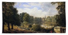 The Serpentine Hand Towel by Jasper Francis Cropsey