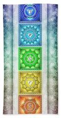 The Seven Chakras - Series 2 Artwork 3 Bath Towel